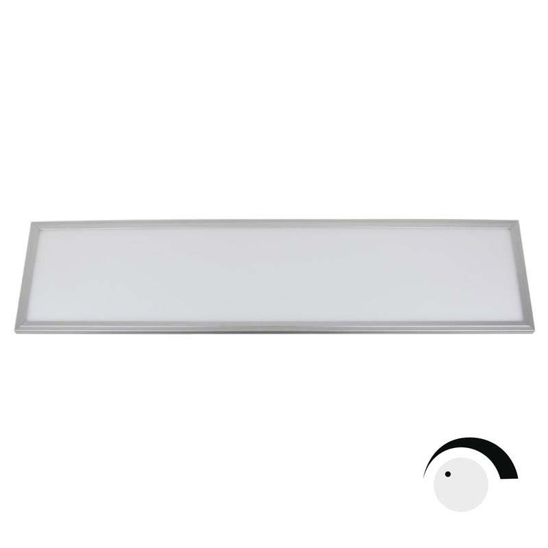 Panel 50W, ChipLed Samsung + TUV driver, 30x120cm, 0-10V regulable, Blanco frío, Regulable